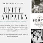 Federated Charities Participates in Frederick's Unity Campaign