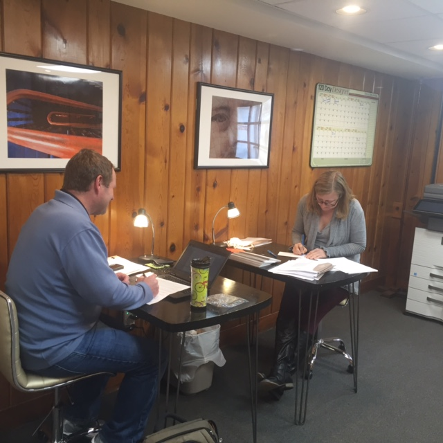 The Lloyd and Charlotte Hoover Charity Incubator, offering free co-work space for nonprofits