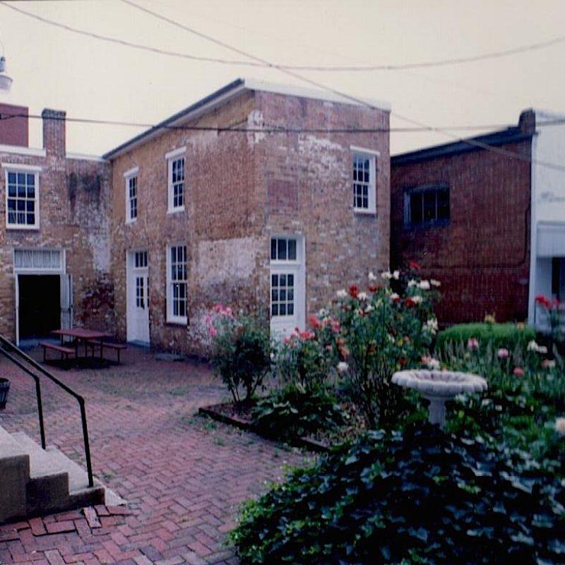 rear garden pre-renovation